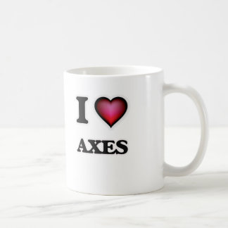 I Love Axes Coffee Mug