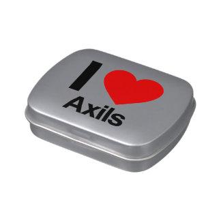 i love axils candy tin