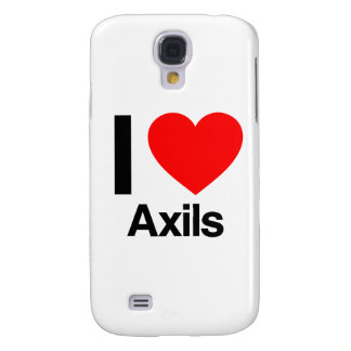 i love axils galaxy s4 cover
