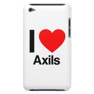 i love axils iPod touch case