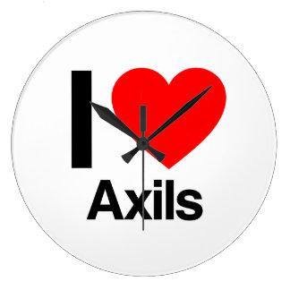 i love axils wall clocks