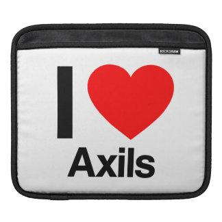 i love axils iPad sleeves