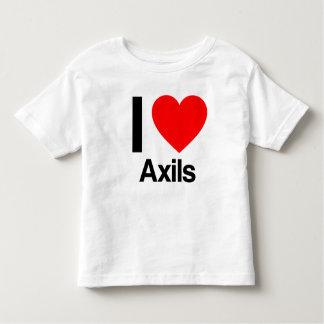 i love axils toddler t-shirt