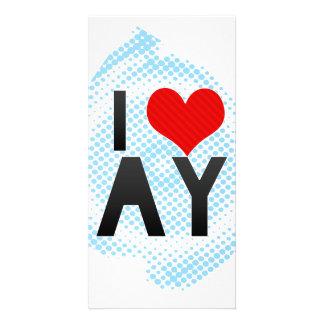 I Love AY Photo Card