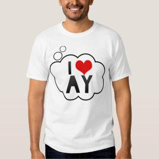 I Love AY Shirt