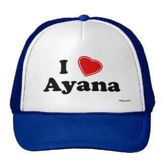 I Love Ayana Trucker Hat