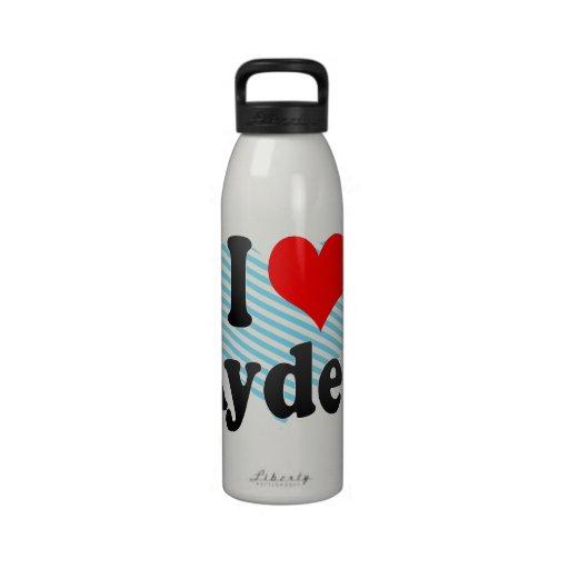 I love Ayden Reusable Water Bottle