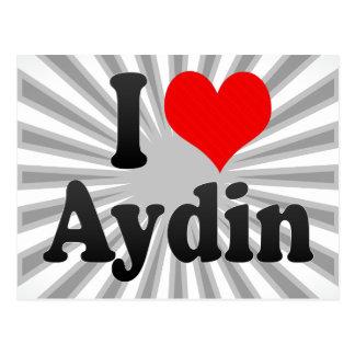 I love Aydin Postcard