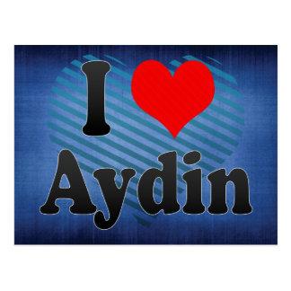 I Love Aydin, Turkey Postcard