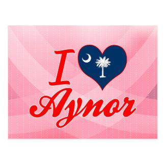I Love Aynor, South Carolina Postcard