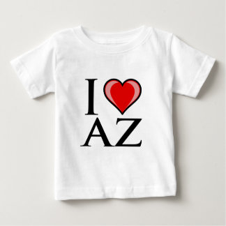 I Love AZ - Arizona Baby T-Shirt