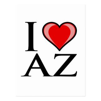 I Love AZ - Arizona Postcard