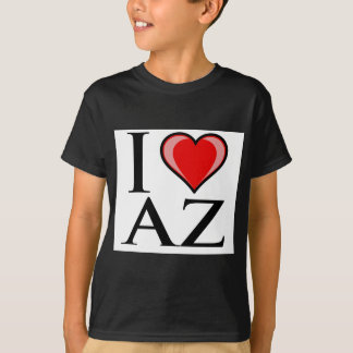 I Love AZ - Arizona T-Shirt