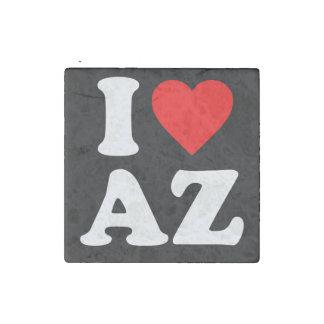 I LOVE AZ STONE MAGNET