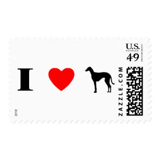 I Love Azawakhs Stamp