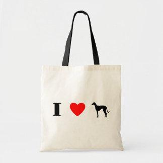 I Love Azawakhs Tote Bag