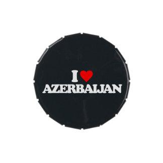 I LOVE AZERBAIJAN CANDY TINS