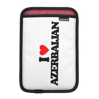 I LOVE AZERBAIJAN SLEEVE FOR iPad MINI