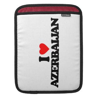 I LOVE AZERBAIJAN SLEEVE FOR iPads