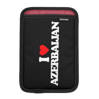 I LOVE AZERBAIJAN iPad MINI SLEEVE
