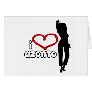 i love Azonto Card