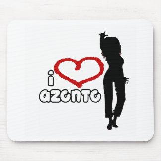i love Azonto Mouse Pad