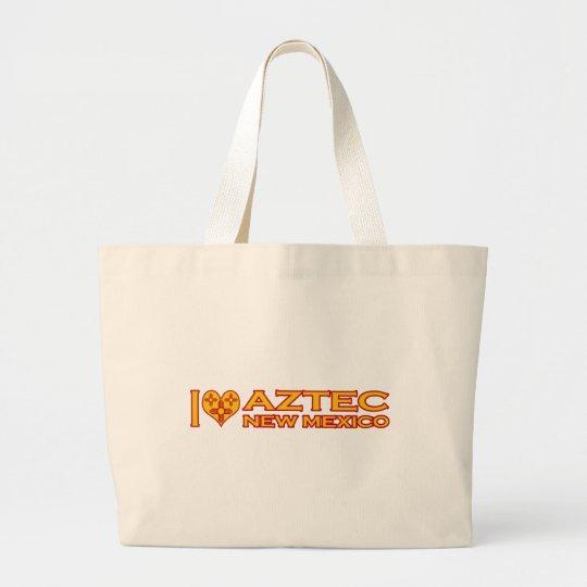 I Love Aztec, NM Large Tote Bag