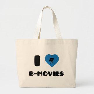 I Love B-Movies Jumbo Tote Bag