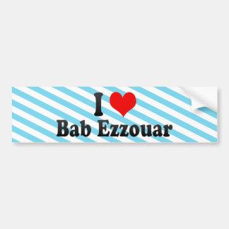 I Love Bab Ezzouar, Algeria Bumper Sticker