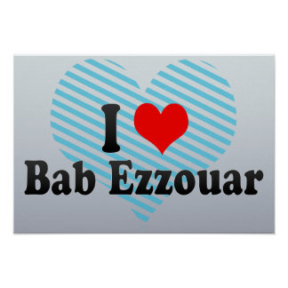 I Love Bab Ezzouar, Algeria Poster