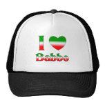 I Love Babbo Trucker Hats