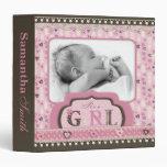 I Love Babies Photo Album Vinyl Binders