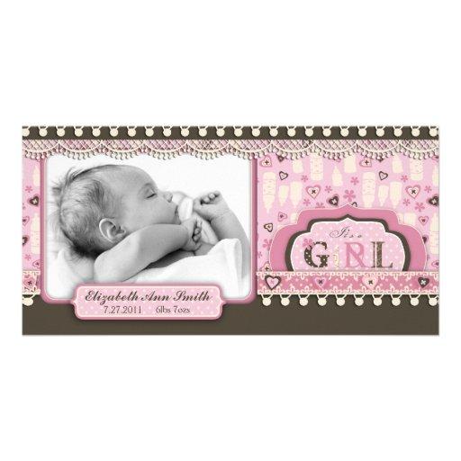 I Love Babies Photo Card