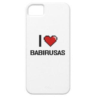 I love Babirusas Digital Design iPhone 5 Case