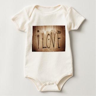 I love baby bodysuit