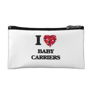 I Love Baby Carriers Makeup Bags