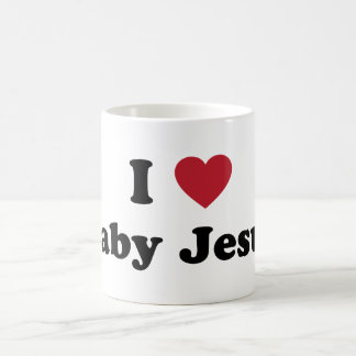 I love baby jesus coffee mug