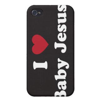 I love baby jesus iPhone 4/4S case