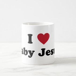 I love baby jesus classic white coffee mug