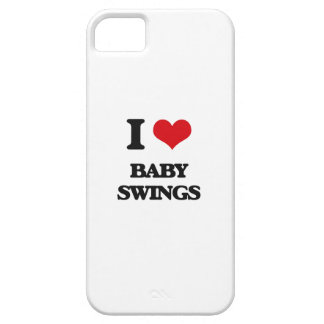 I Love Baby Swings iPhone 5 Cases