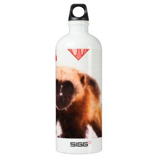 i love baby wolverine aluminum water bottle