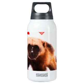 i love baby wolverine insulated water bottle