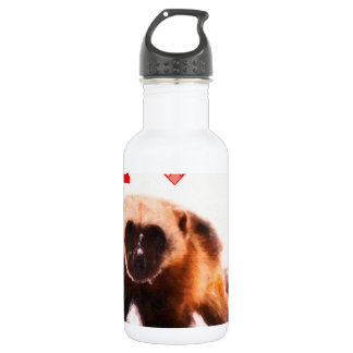 i love baby wolverine stainless steel water bottle