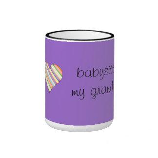 I love babysitting my granddog - mug
