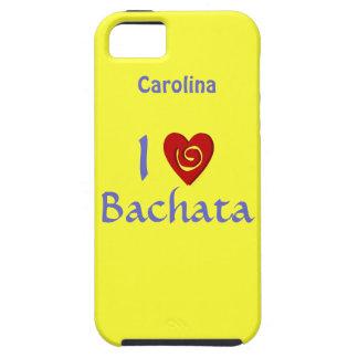 I Love Bachata Latin Dancing Custom iphone 5 Case