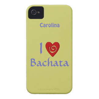 I Love Bachata Latin Dancing Personalized Cover