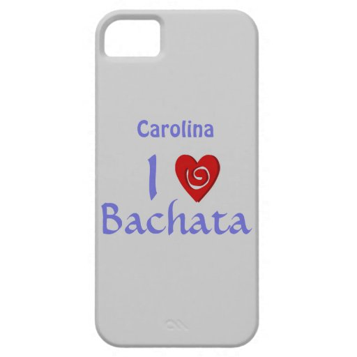 I Love Bachata Latin Dancing Personalized iphone 5 iPhone 5 Covers