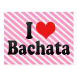 I Love Bachata Postcard