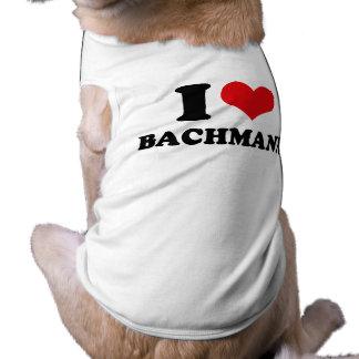 I LOVE BACHMANN DOGGIE T-SHIRT