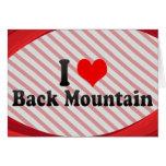 I Love Back Mountain, United States Cards